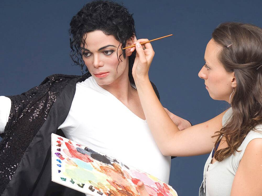 Making of the Michael Jackson Waxfigur