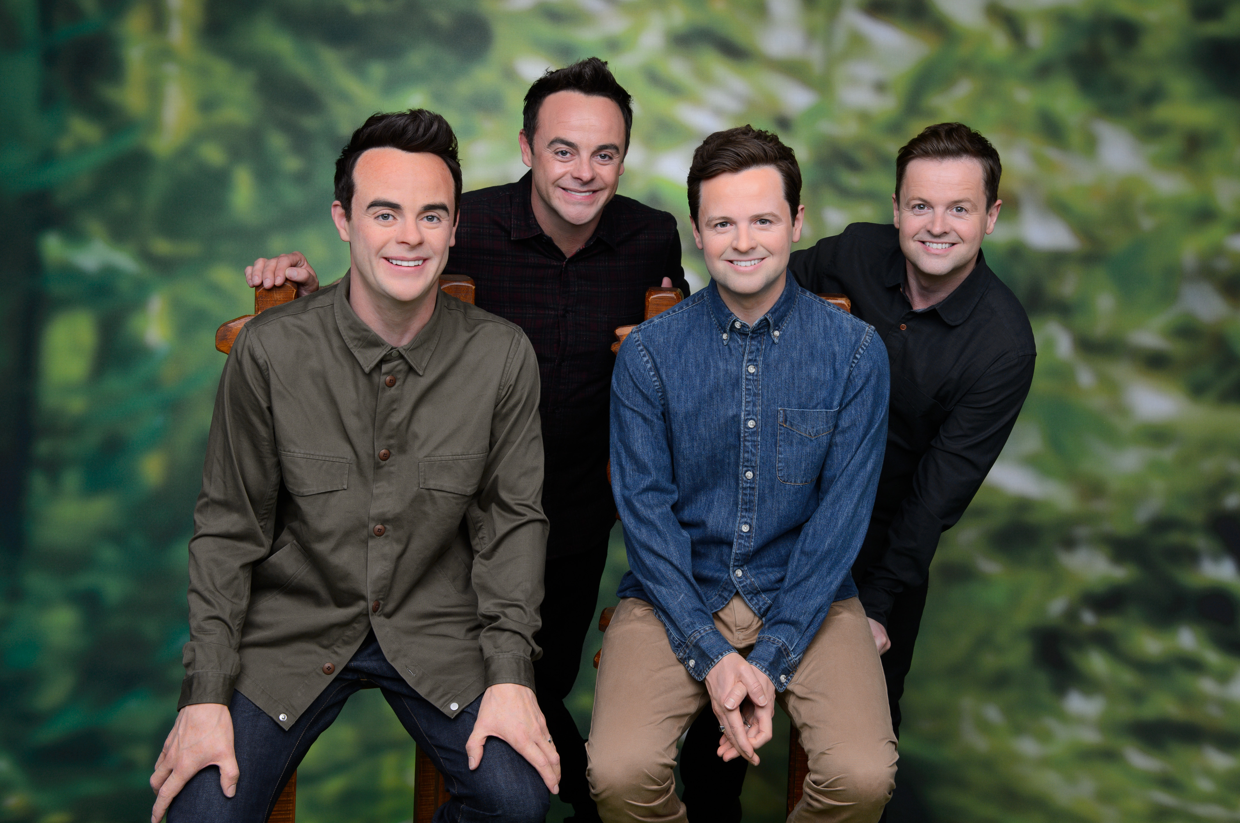 Ant and Dec meet their wax figures at Madame Tussauds Blackpool