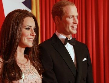 Duke and Duchess of Cambridge - Royals at Madame Tussauds Blackpool