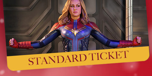 Thor and Guests at Madame Tussauds Blackpool - Standard Ticket
