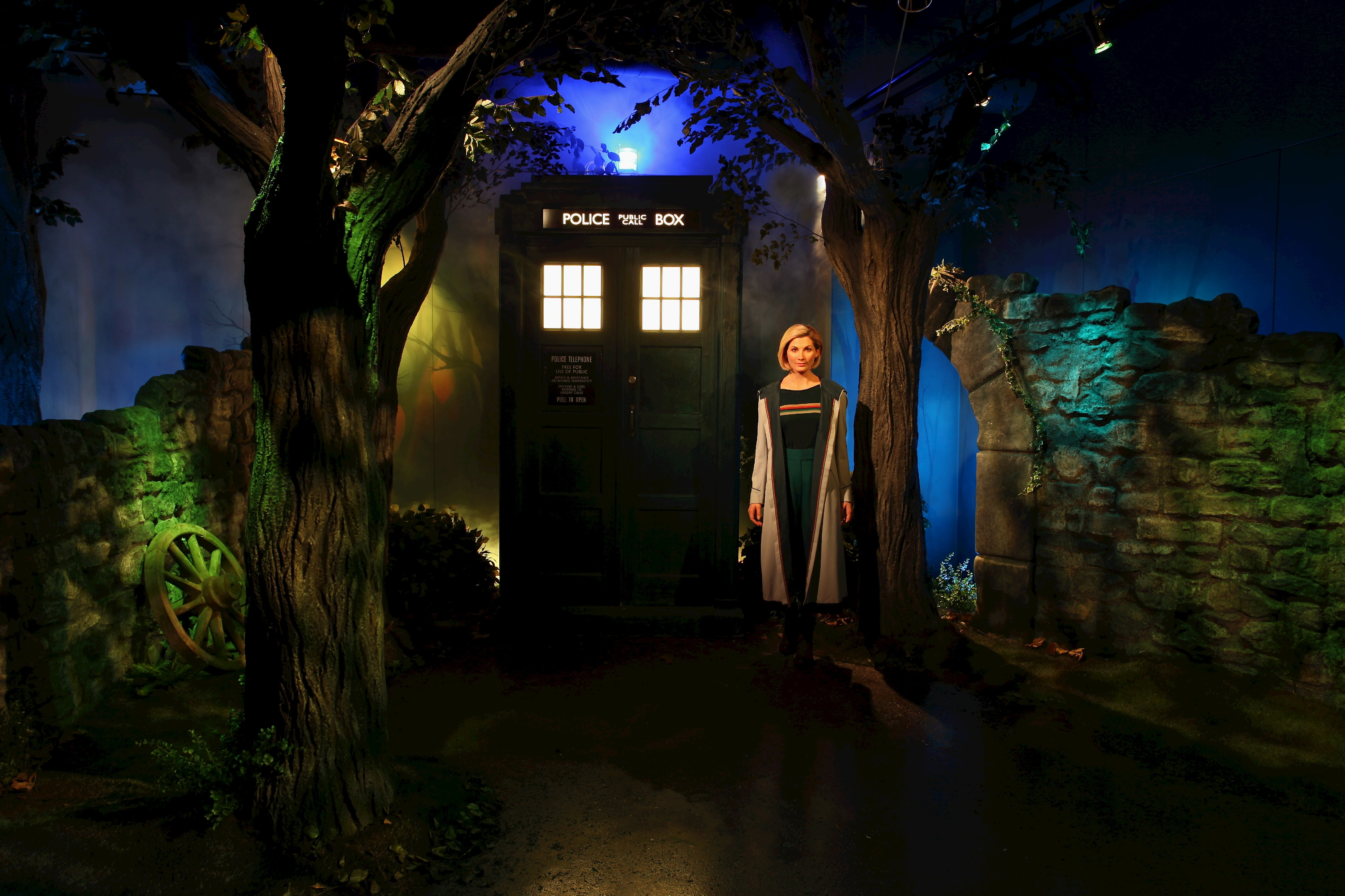 Doctor Who Wax Figure at Madame Tussauds Blackpool