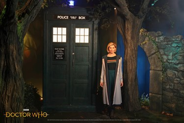 Dr Who wax figure at Madame Tussauds Blackpool
