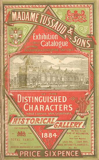Madame Tussauds Exhibition Catalogue