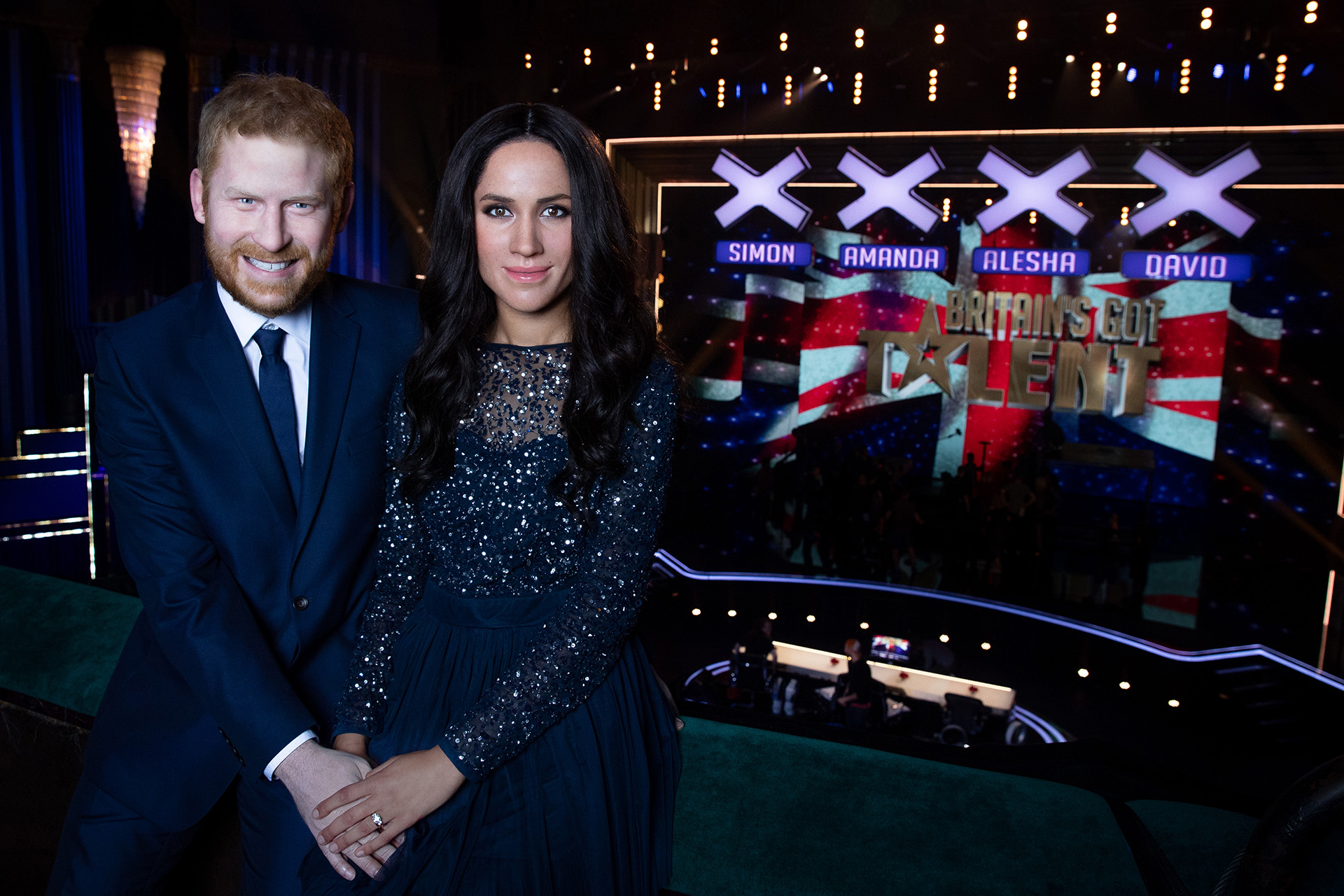 Harry And Meghan Britain's Got Talent Final