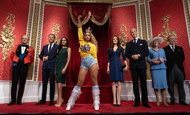 Queen Bee arrives at Madame Tussauds