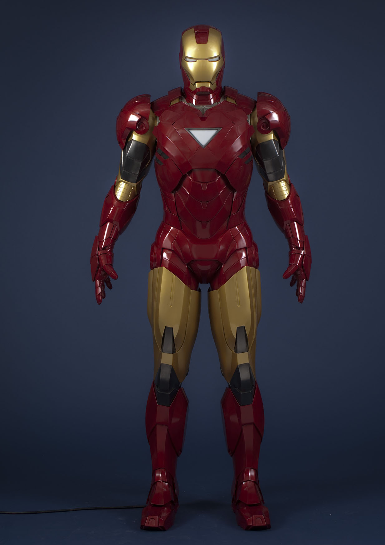 Iron Man's figure at Madame Tussauds London
