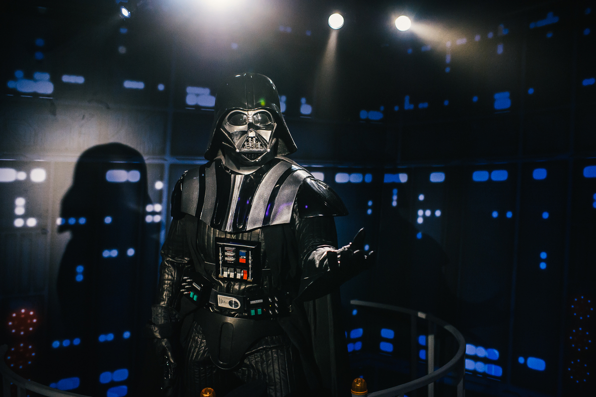 Darth Vader at Madame Tussauds London