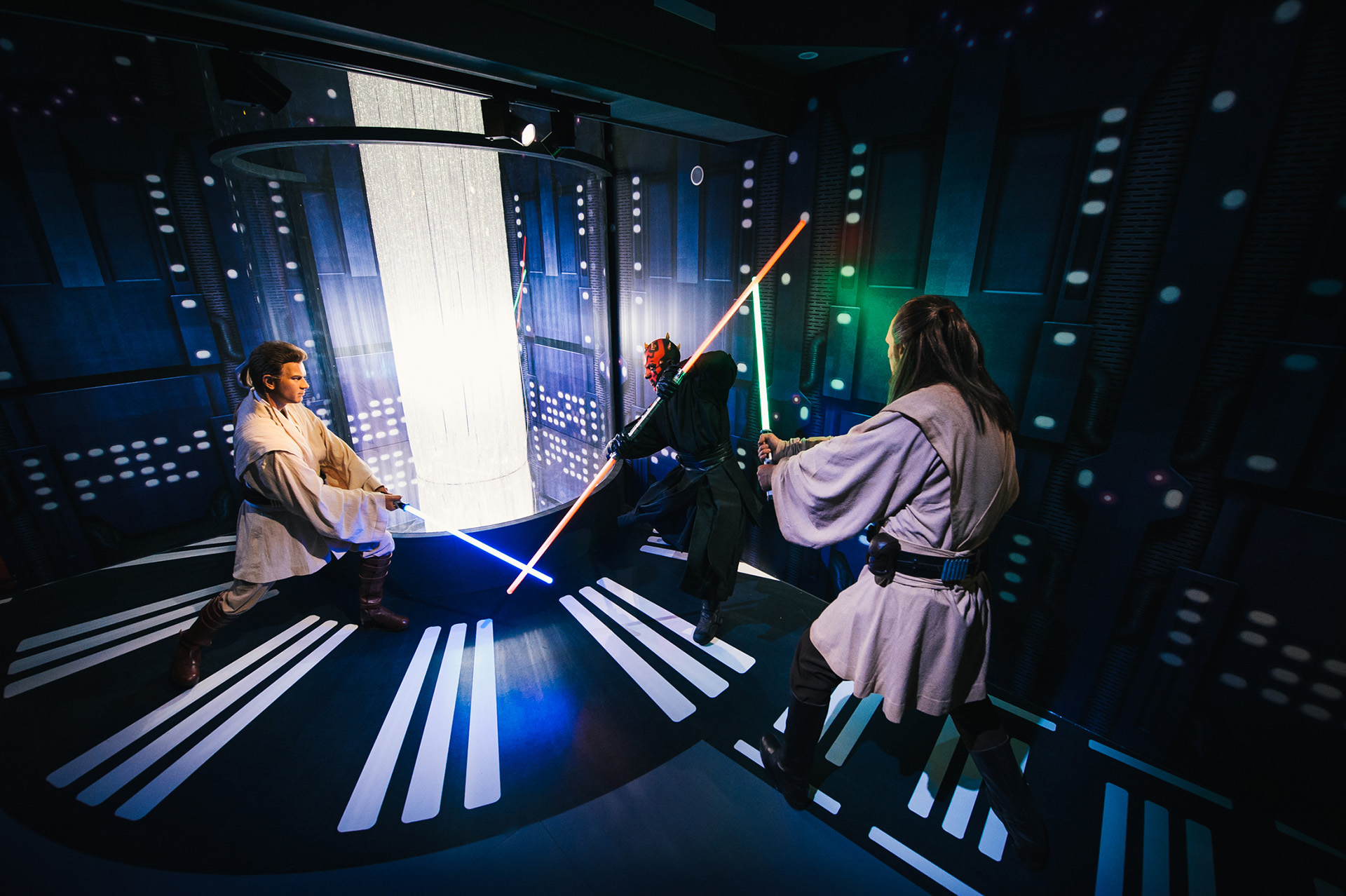 Duel Of Fates at Madame Tussauds London