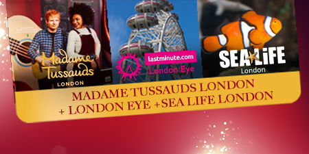 Madame Tussauds the London Eye + Sea Life
