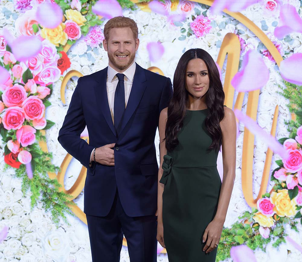 Duke And Duchess Of Sussex's figures