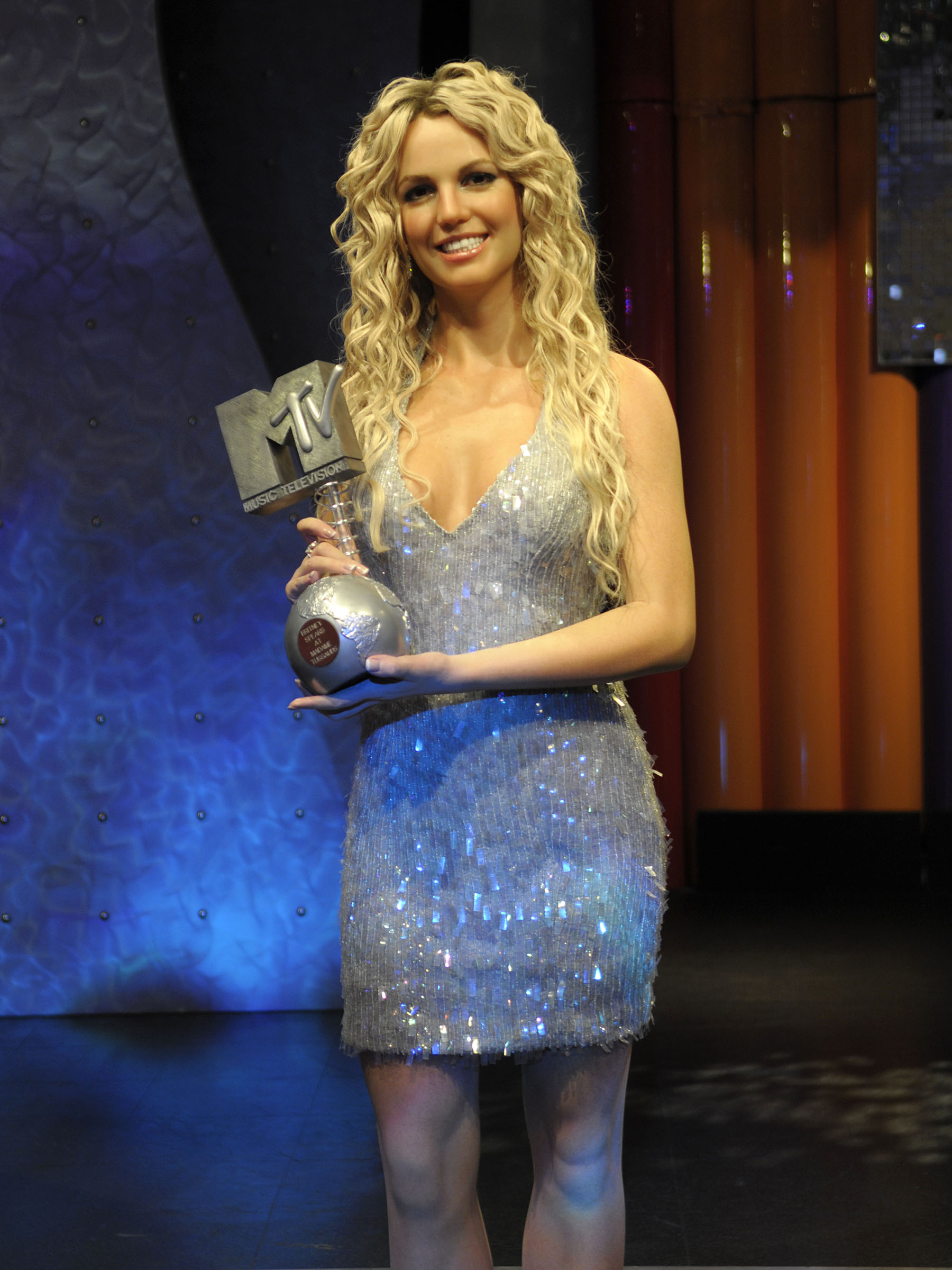 Britney Spears figure at Madame Tussauds