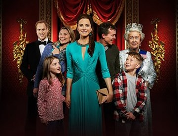 Royal family at Madame Tussauds London