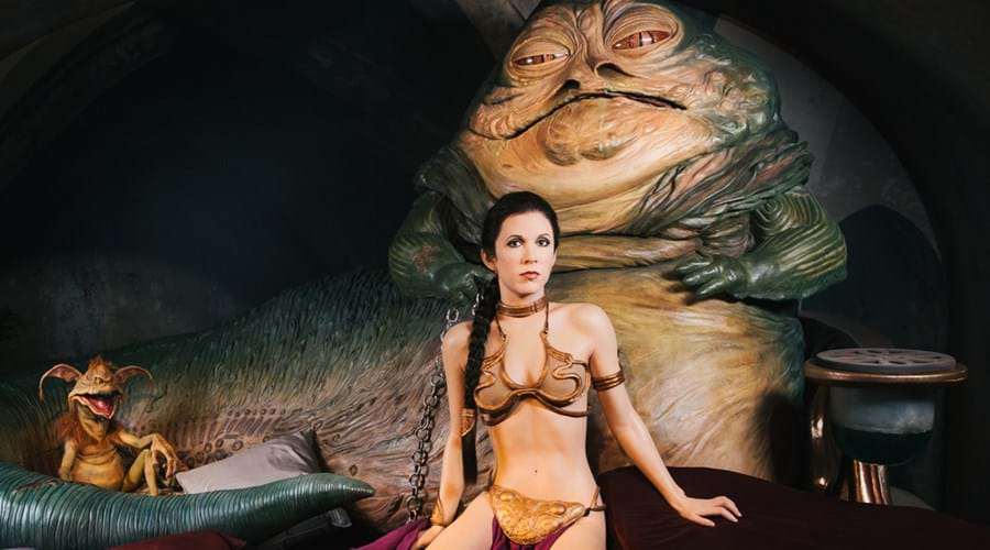 Jabba's Throne Room at Madame Tussauds London