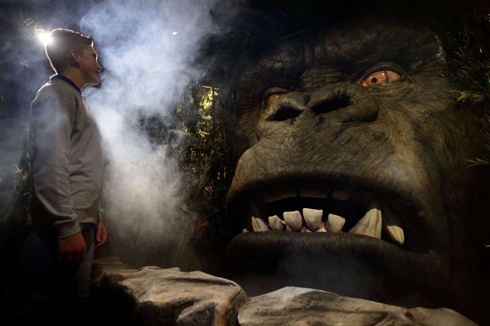 Kong Skull Island at Madame Tussauds London
