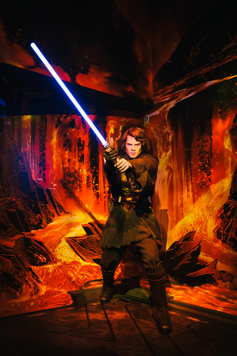 Mustafar at Madame Tussauds London