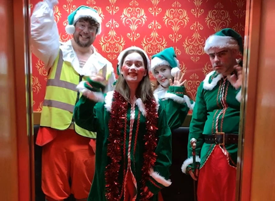 Elves at Madame Tussauds