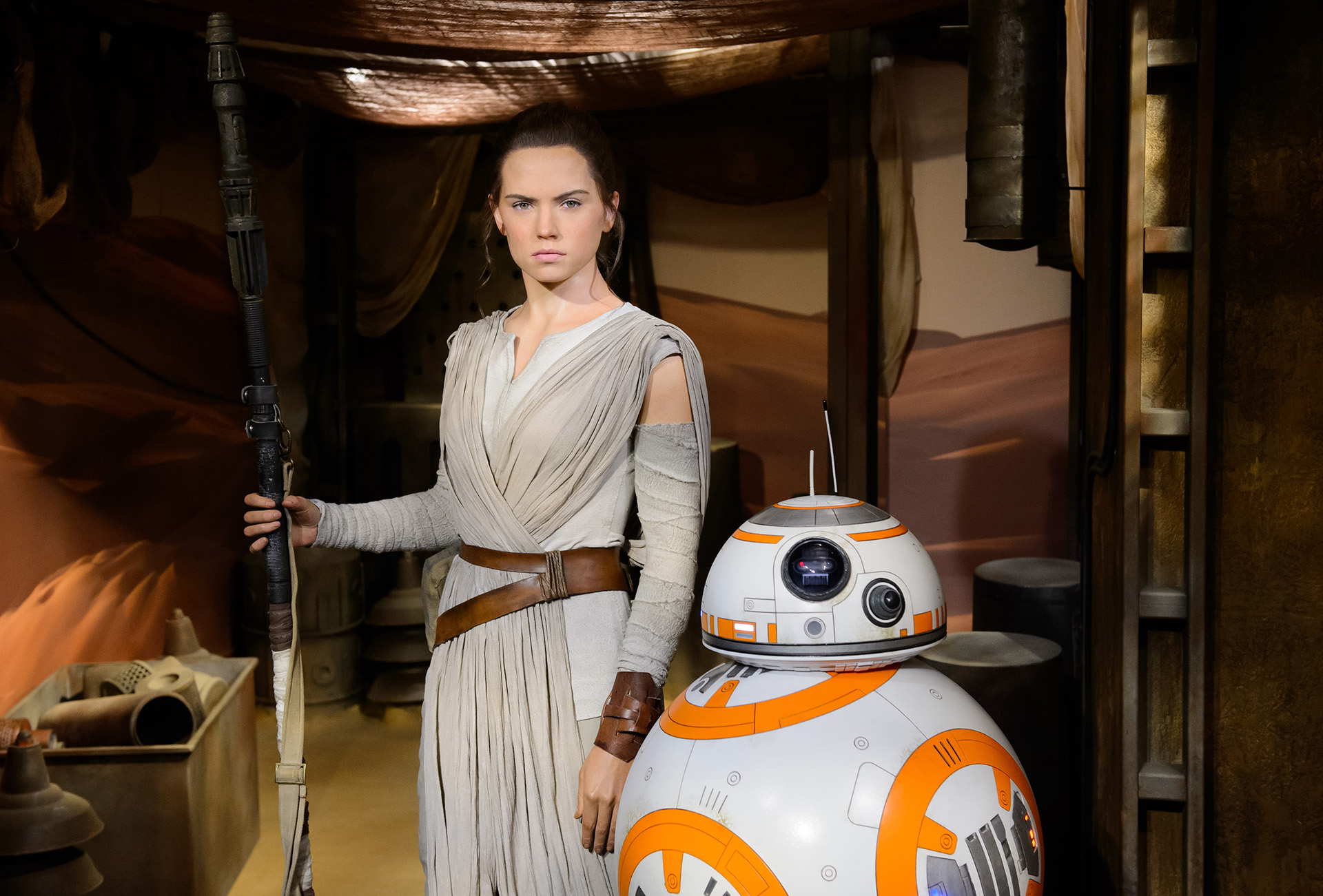Jakku figure at Madame Tussauds London