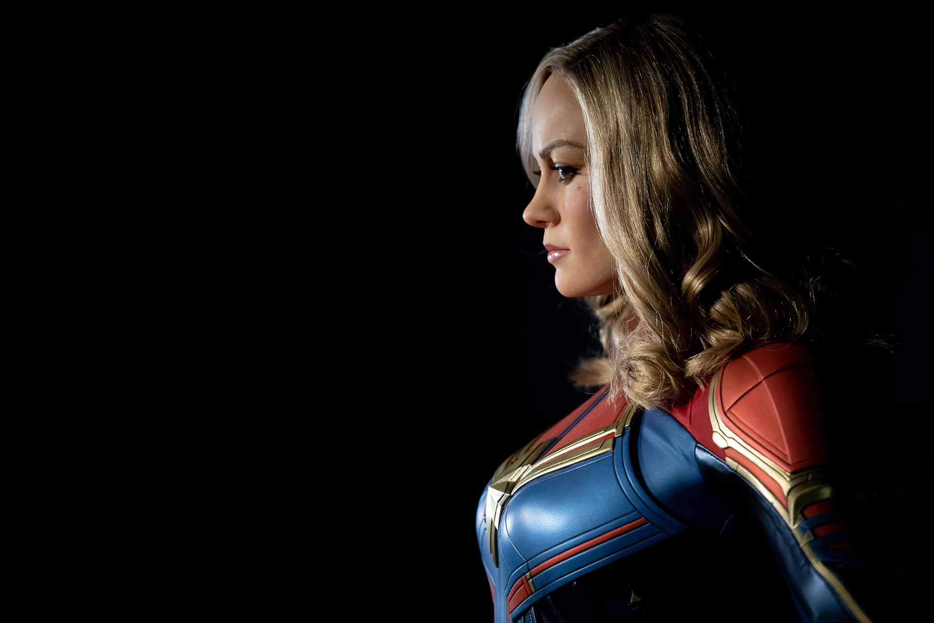 Captain Marvel at Madame Tussauds London