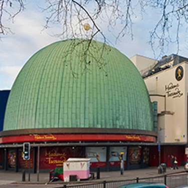 Exterior of Madame Tussauds London