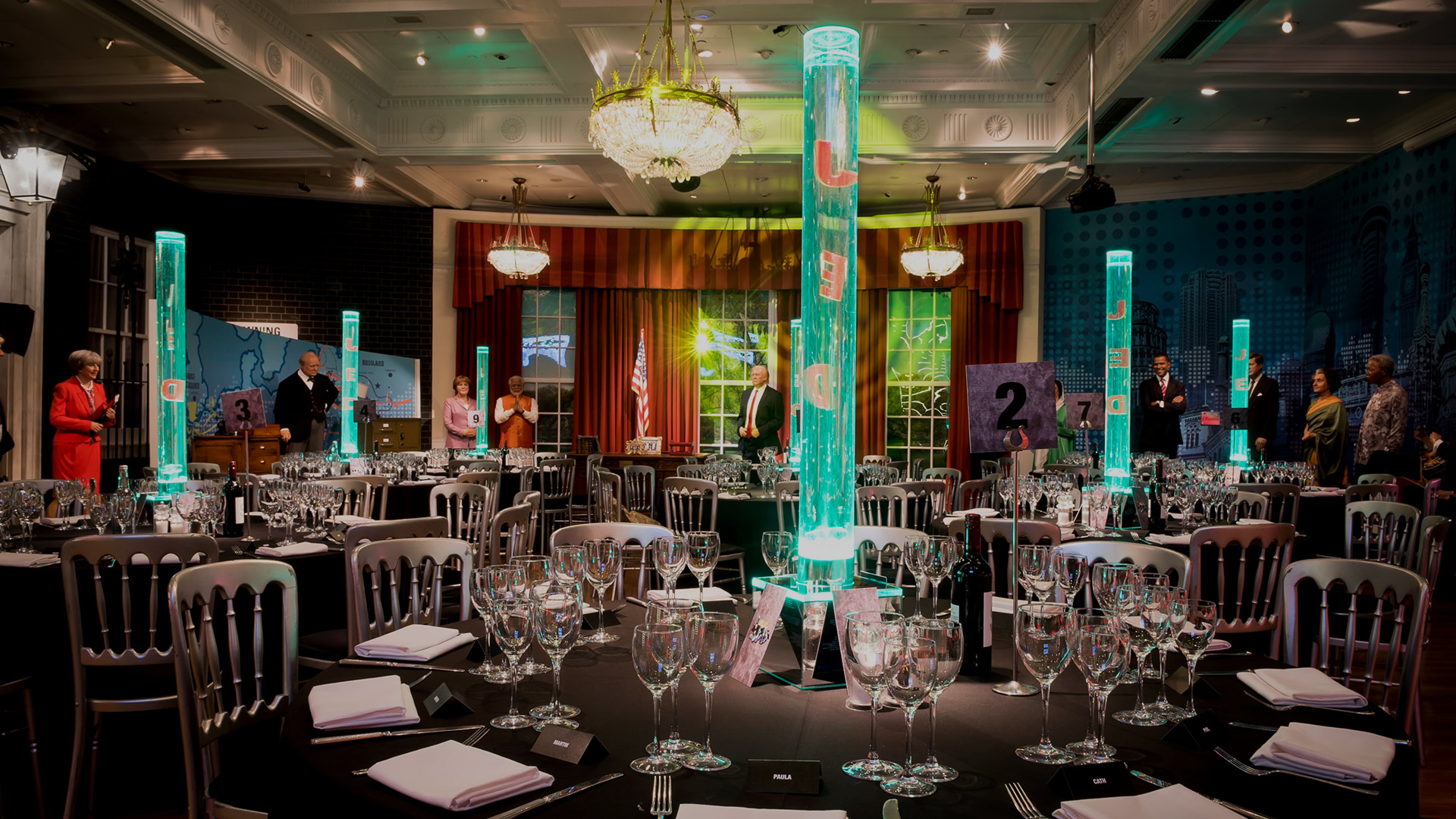 Corporate events at Madame Tussauds