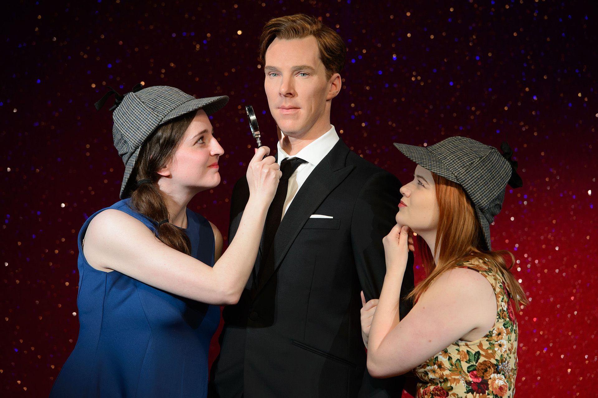 Fans taking a closer look at Benedict Cumberbatch figure
