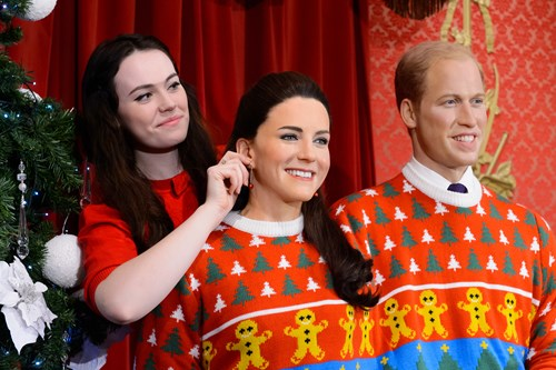 Kate Middleton in Christmas jumper