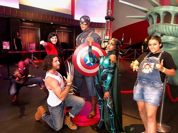Người hâm mộ các nhân vật trong vũ trụ điện ảnh Marvel